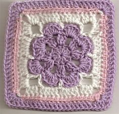 Ravelry: Just Peachy Blossom 6x6 pattern by Donna Mason-Svara  January 4