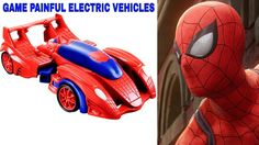 Sexy Elsa Spiderman GAME PAINFUL ELECTRIC VEHICLES Hulk Death
