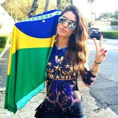 Começou!!! Hoje é dia de torcer VAI BRASILLL #worldcup #brasil  The game started! #brasilvscroatia