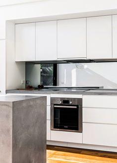 Modern white kitchen - Stil Inspiration