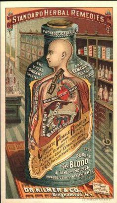 Vintage ads for health products · standard herbal remedies by dr., binghamton, n. Pub Vintage, Vintage Labels, Vintage Ephemera, Vintage Cards, Weird Vintage, Vintage Prints, Vintage Posters, Retro, Etiquette Vintage