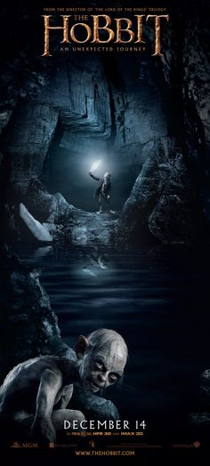 "Gollum banner poster for ""The Hobbit"""