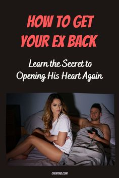 Did you share a special connection with a guy?And despite his recent actions, you know he felt it too? Learn the secret to opening his heart again.