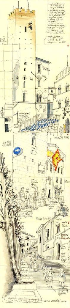 Italy  #sketchbook  #travel  #journal