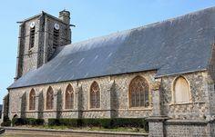 Eglise Saint-Pierre. Ault. Picardie