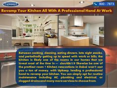 Visit us :- http://upkeep.ae/home-maintenance-service-in-dubai/ - Our award winning kitchen designers specialize Kitchen Renovation in Dubai. Call Normandy Renovating today for a free kitchen design  consultation!