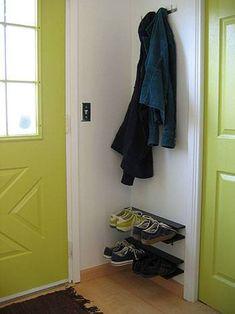 1000 images about shoe storage ideas on pinterest shoe - Shoe and coat storage ideas ...