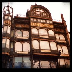 Bruxelles - The Old England building is one of the nicest Art-nouveau buildings in Brussels, which contains the Musical Instruments Museum