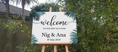 NZ Made Wedding Sign, Personalised seating plan chart print on Foamboard for party / event Party Venues, Unique Presents, Personalized Signs, Best Day Ever, New Sign, Wall Signs, Wedding Signs, Signage, Wall Decals