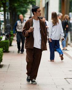 42 Affordable Mens Clothing Ideas That Trendy Right Now Cozy Fashion, Minimal Fashion, Mens Fashion, Fashion Outfits, Street Fashion Men, Women's Lingerie Sets, Mens Clothing Styles, Clothing Ideas, Japan Fashion