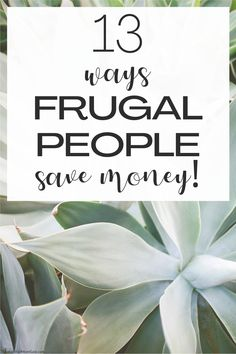 These frugal living tips will help you save money everyday. Learn from the most frugal people and see how they save money. Use these save money tips and see how easy it is to live a frugal life on a budget. #frugal #frugality #savingtips