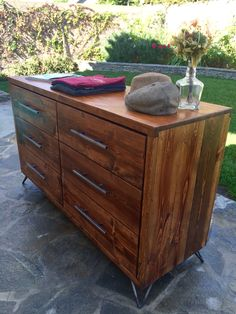 Ashtin Dresser by SalvageProject on Etsy Home Design Diy, House Design, Dresser, Sweet Home, Bedroom Inspiration, Woodstock, Etsy, Furniture, Home Decor