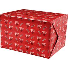 Chicago Bulls Wrapping Paper $4.99