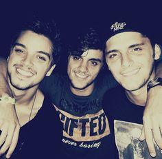 Rodrigo Simas, Felipe Simas and Bruno Gissoni