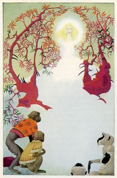 """""""What is it, brother? Why do you crouch and stare?"""" - The Three Mulla-Mulgars by Walter de la Mare from 1919"""