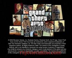 Grand Theft Auto - San Andreas (PS2)
