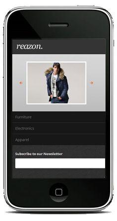 HelloReazon iPhone Magento Theme