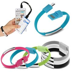 Universal Micro USB Charger Cable Charging & Data Sync Cord Fashion Bracelet #UnbrandedGeneric