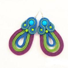 Soutache earrings / kolczyki sutasz
