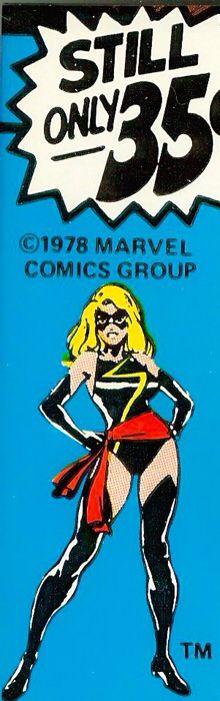 Marvel corner box art - Ms. Marvel