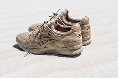 """ASICS and monkey time Come Through With the GEL-Lyte V """"Sand Layer"""""""