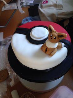 Eevee Pokemon Cake