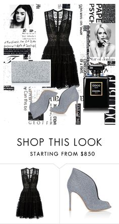 """Untitled #130"" by belma11 ❤ liked on Polyvore featuring Elie Saab and Gianvito Rossi"