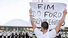 Abaixo-assinado · Exigimos o fim do foro privilegiado de políticos no Brasil! BASTA de impunidade! · Change.org