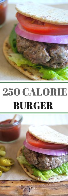 """#ad A """"Better-for-You"""" Burger made with a beef and mushroom blend and a whole grain bun. Juicy and delicious."""