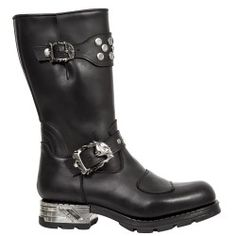 Botte en cuir M.MR034-C1 New Rock