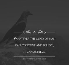 What is your mind conceiving? Do you believe you can achieve it?  Well you can!   #goals #success #motivation #inspiration #believe #entrepreneur #inspirationalquotes #dream #mindset #ambition #grind #entrepreneurlife #business #successful #inspire #quoteoftheday Do You Believe, You Can Do, Online Marketing, Digital Marketing, Napoleon Hill Quotes, Conceiving, Motivational Messages, Daily Inspiration, Motivation Inspiration