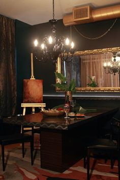 Downtown LA - eclectic - dining room - los angeles - Natalie Younger Interior Design, Allied ASID