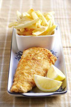 Fish and chips. Makes me want Long John Silver's.