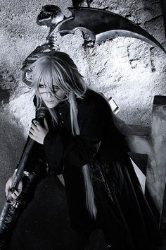Sakuya Undertaker Epic Cosplay, Awesome Cosplay, Anime Cosplay, Best Cosplay Ever, Cosplay Makeup, Cosplay Outfits, Cosplay Costumes, Me Gustas, Black Buttler Cosplay