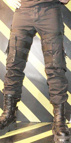 Apocalyptic Gothic Bondage Pants