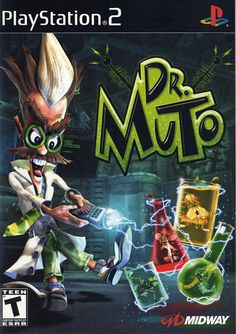 Dr Muto Nintendo Gamecube used game available for sale. Playstation 2, Xbox, Nostalgia, Game Of The Day, Video Game Collection, School Games, Box Art, Cyberpunk, Childhood