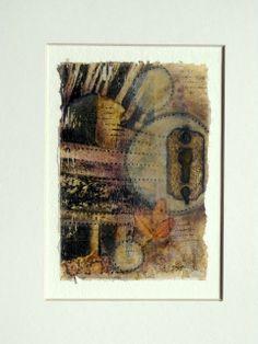 Tea bag artist - pictures of artwork - no tutorial