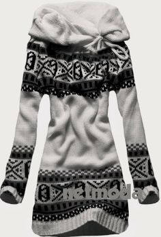 Allegro Norwegian Style Open Face Sweater | Fashionista Tribe