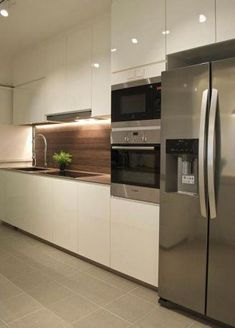 Exceptional Kitchen Room are available on our website. Have a look and you will not be sorry you did. Kitchen Room Design, Kitchen Cabinet Design, Modern Kitchen Design, Home Decor Kitchen, Kitchen Living, Interior Design Kitchen, Home Kitchens, New Kitchen, Kitchen Island