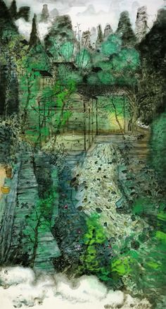 Fang Xiang, Clear Spring, Chinese Painting, 2006
