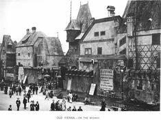 Old Vienna on The Midway  Chicago World's Fair 1893