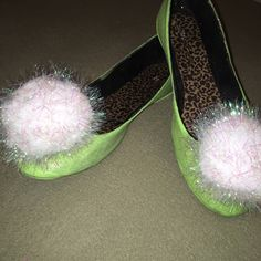 Tinkerbell Cosplay Shoes by MorganAnneArt on Etsy