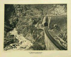 Spoorwegtunnel. (Sumatra's Staatsspoor). c 1895