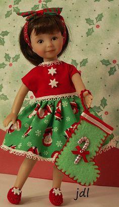 "Heartstring Elizabeth 8"" Dinna Effner Doll by JDL Doll Clothes"