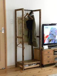 mori,no,komichi [DIY]ハンガーラック