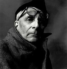 Claude Levi-Strauss (1908-2009) - French anthropologist and ethnologist. Photo Irving Penn, 1970
