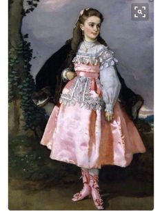 1860 girls dress