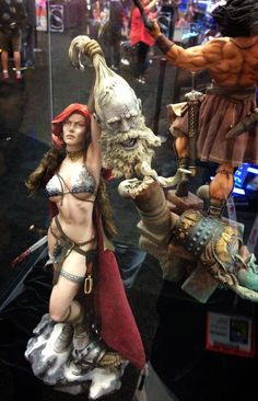 Red Sonja Sideshow SDCC - STATUE M A R V E L S