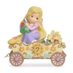 Precious Moments Disney Birthday Parade Rapunzel Age 7