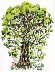 """Sierra Leone Cotton Tree"" - Save Our Souls magazine"